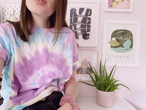 Tie-Dye Tees - Multi-colours - Unisex Fit