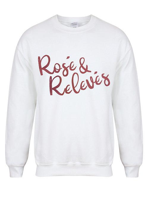 Rosé and Relevés - Kelham Print x Annabelle Brittle - Unisex Fit Sweater