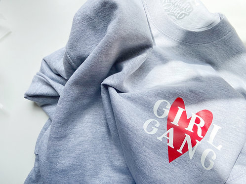 Girl Gang - Heart - Kids Sweater