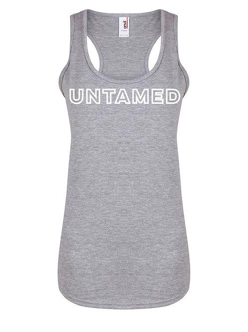 Untamed - Block Letters - Women's Racerback Vest