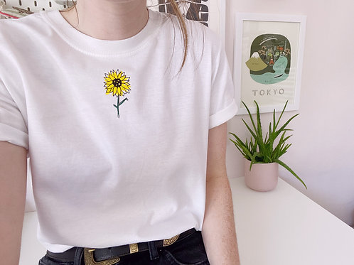 Sunflower Tee with free Sunflower Seeds - Unisex T-Shirt