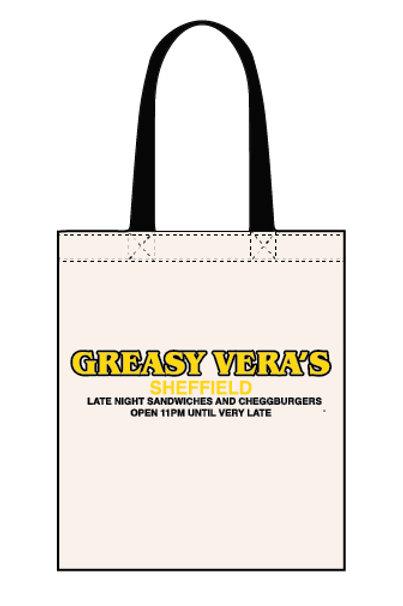 Greasy Veras - Late Night - Canvas Tote Bag