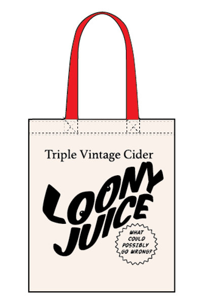 Loony Juice - Canvas Tote Bag