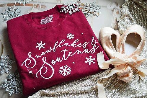 Snowflakes & Soutenus - Kelham Print x Annabelle Brittle - Unisex Fit