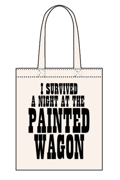 Painted Wagon - Canvas Tote Bag
