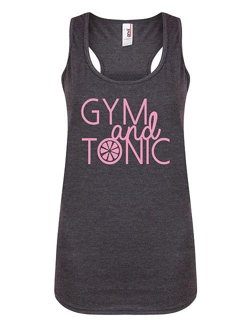 Gym and Tonic- Women's Racerback Ves