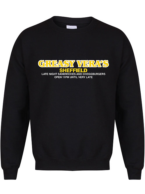 Greasy Vera's Late Night - Unisex Fit Sweater