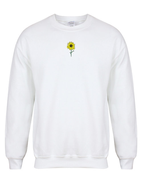 Sunflower with free Sunflower Seeds - Unisex Fit Sweater