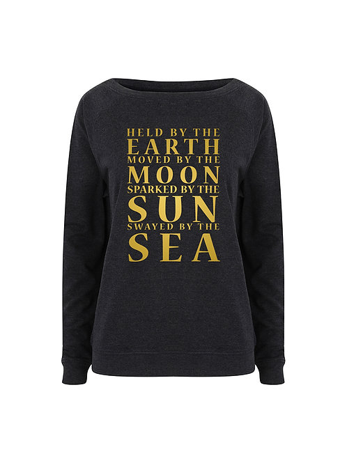 Held By The Earth - Ladies Relaxed Fit Sweater