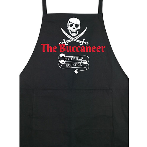 The Buccaneer - Apron - Black