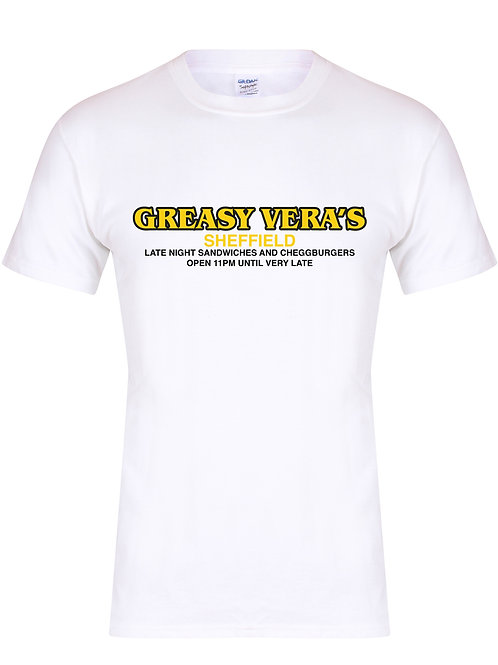 Greasy Vera's Sheffield - Unisex Fit T-Shirt