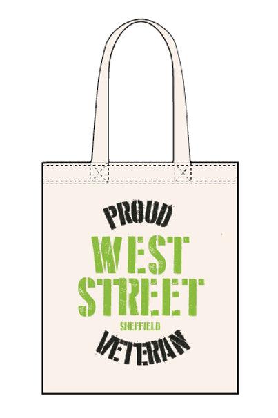 Proud West Street Veteran - Canvas Tote Bag