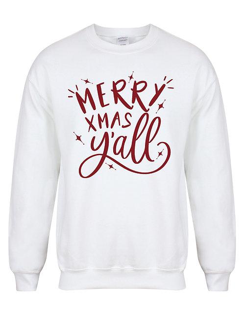 Merry Xmas Y'all - Unisex Kid's Sweater