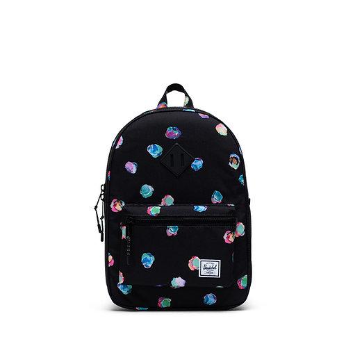 Herschel\ kids Black Color Dots