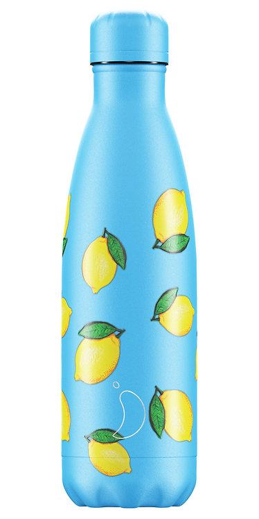 """בקבוק מים 500 מ""""ל Chilly's\ Lemon"""
