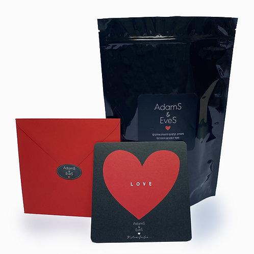 AdamS & EveS משחק קלפים לזוגות אוהבים