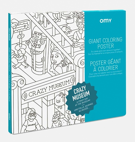 Giant poster - Crazy Museum
