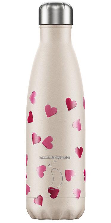 """בקבוק מים 500 מ""""ל Chilly's\ Hearts"""
