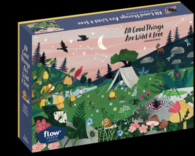 All good things are wild&free puzzle