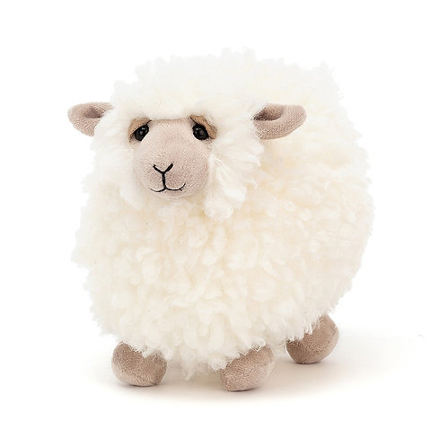 Jelly Cat\  Small Rolbie Cream Sheep