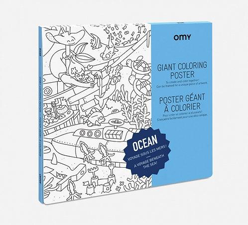 Giant poster - Ocean