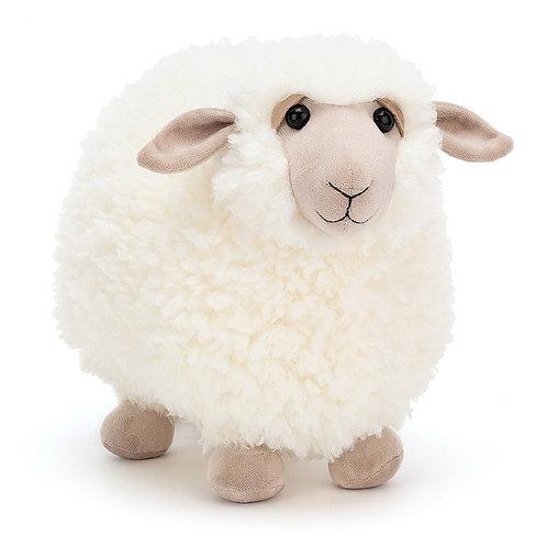 Jelly Cat\  Medium Rolbie Cream Sheep