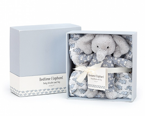 Jelly Cat\ Bedtime Elephant Gift Set