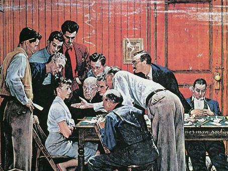 Rockwell Cash Thanksgiving
