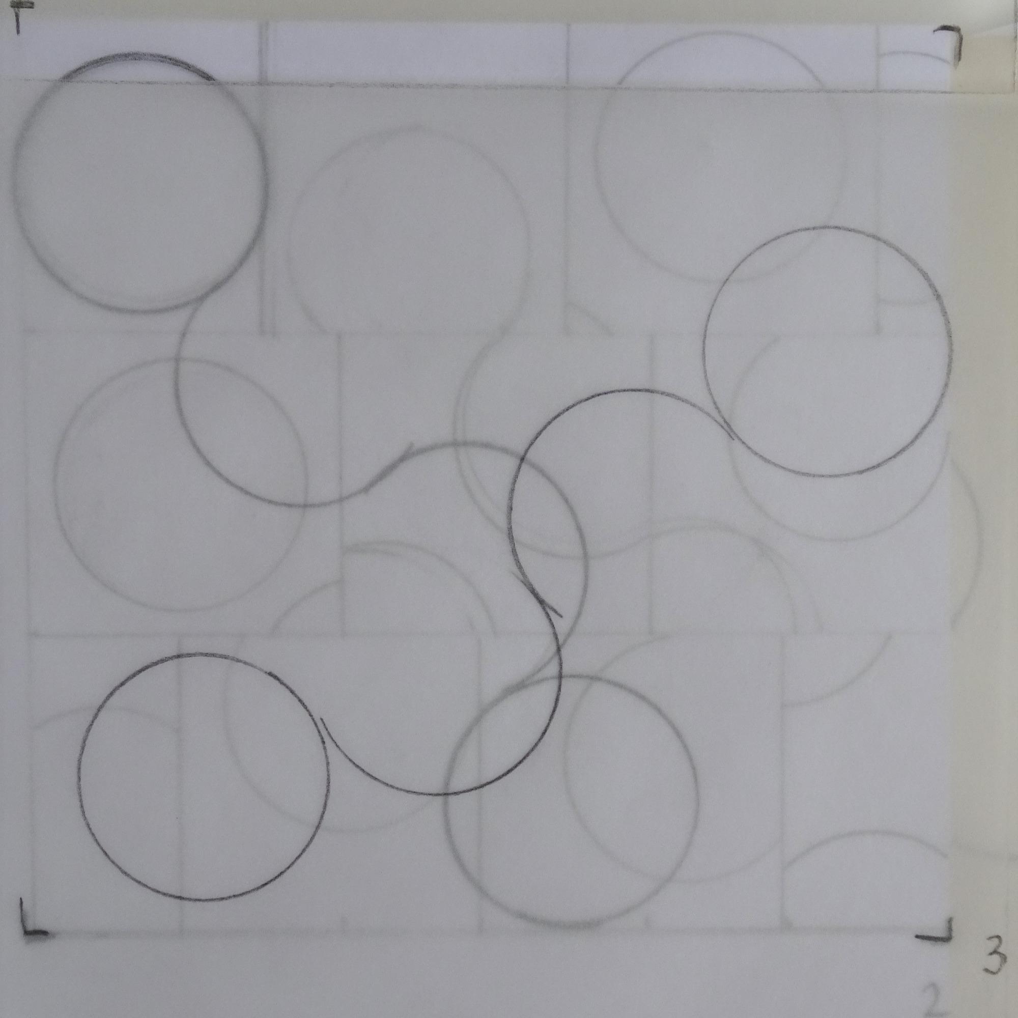 Cirkels voorontwerp