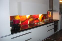 eindresultaat keukenschilderij
