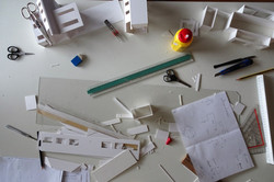 werken aan een maquette