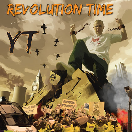 "RM004 YT- Revolution Time 12""LP"