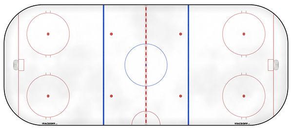 1985 NHL Season Ice Rink
