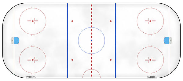 1999 NHL Season Ice Rink