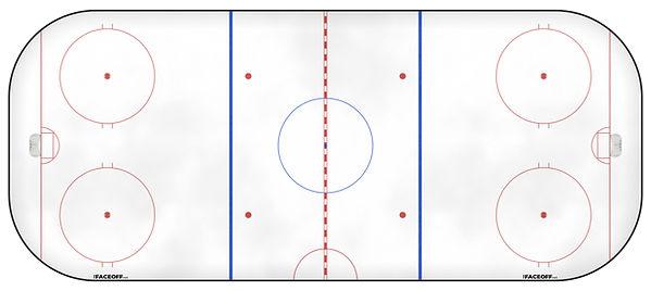1987 NHL Season Ice Rink