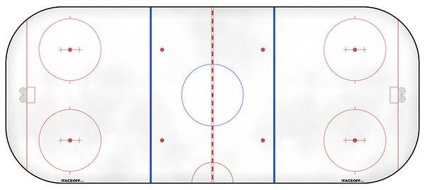 1965 NHL Season Ice Rink
