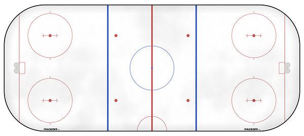 1962 NHL Season Ice Rink