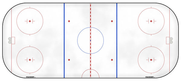 1977 NHL Season Ice Rink