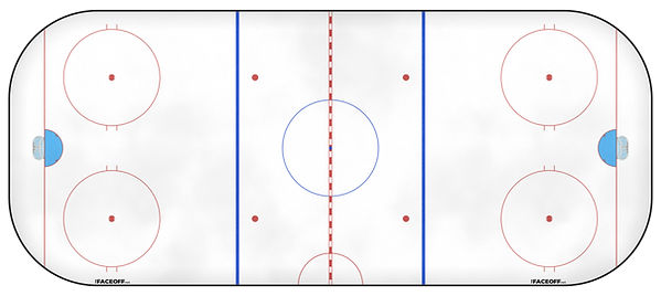 1992 NHL Season Ice Rink