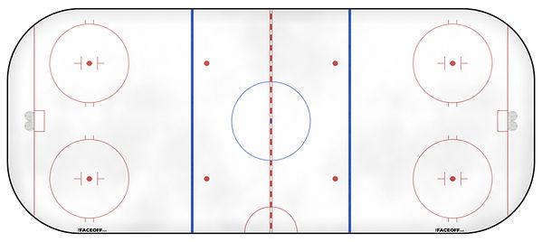 1979 NHL Season Ice Rink
