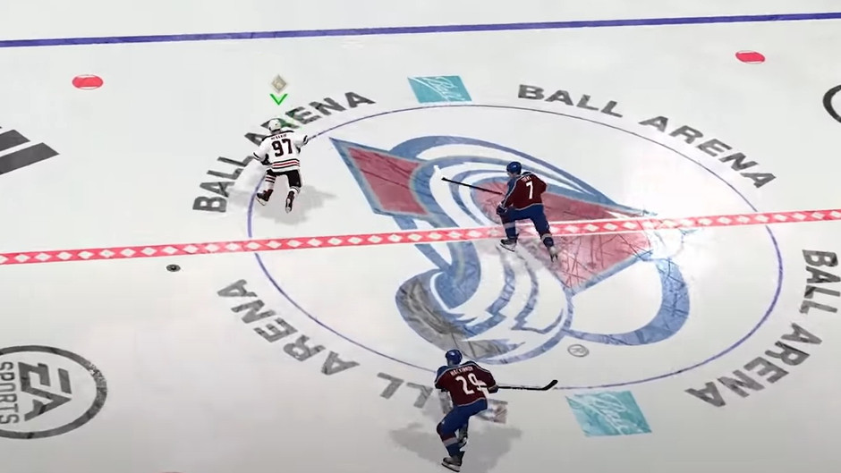 NHL 22 Fixes Decade Old Center Ice Issue