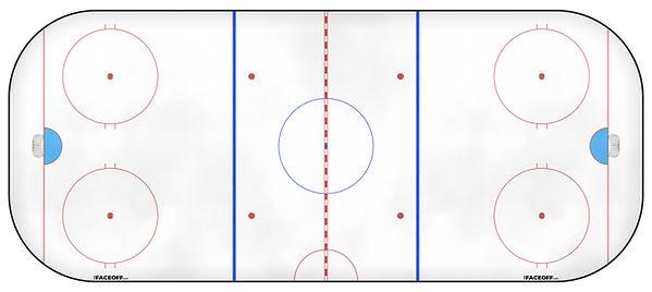 1996 NHL Season Ice Rink