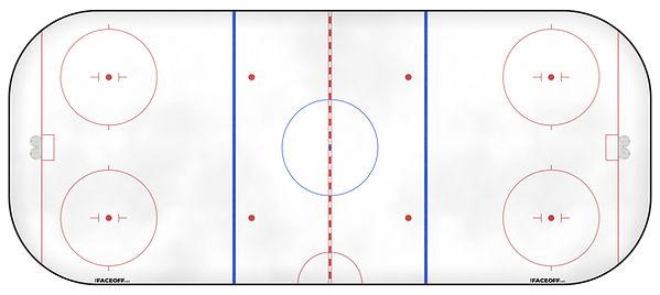 1974 NHL Season Ice Rink