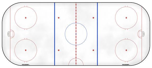 1991 NHL Season Ice Rink