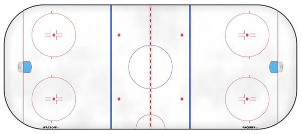 2003 NHL Season Ice Rink