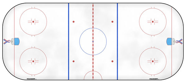 2002 NHL Season Ice Rink