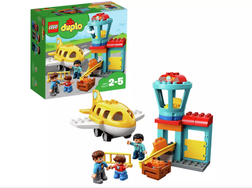 LEGO DUPLO My Town Airport and Airplane Toy