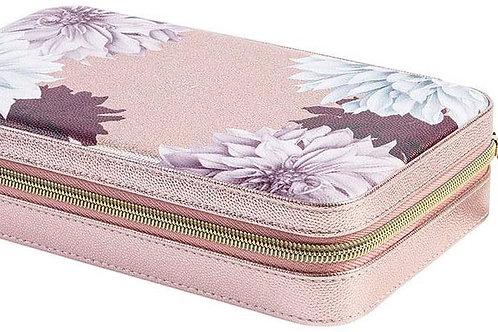 Ted Baker Metallic Pink Clove Large Jewellery Case