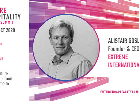 Alistair Gosling to speak at the Future Hospitality Summit, part of the G20 Summit