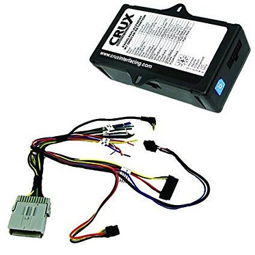 CRUX SWRGM-48 Radio Replacement w/ SWC Retention for Select GM Class II Vehicles